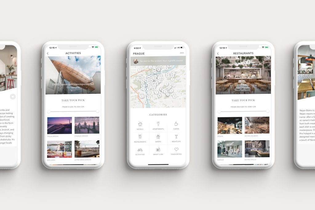 Prague City Guide App by Coolmapp
