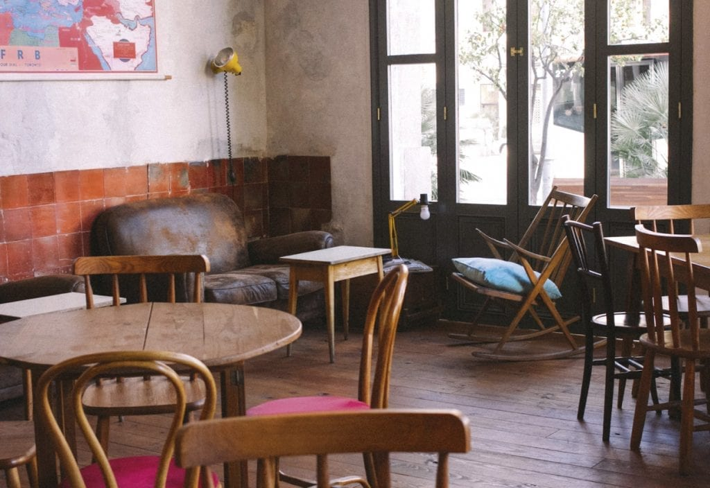 Granja Petit Bo restaurant, a great place to recharge your batteries after visiting the Sagrada Familia