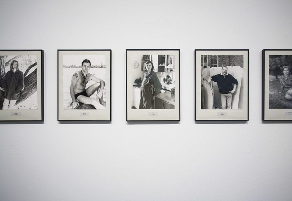 Portraits exhibition at Macba, a great thing to visit in Barcelona for architecture lovers