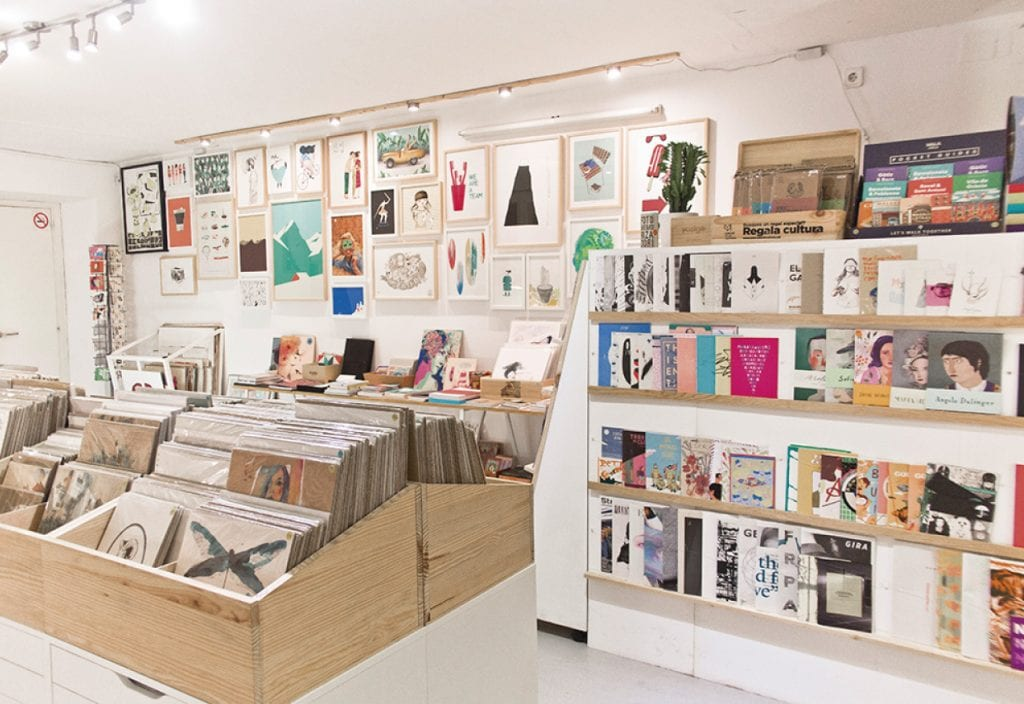 Miscelánea store, where you can support Barcelona creatives with revolutionary ideas