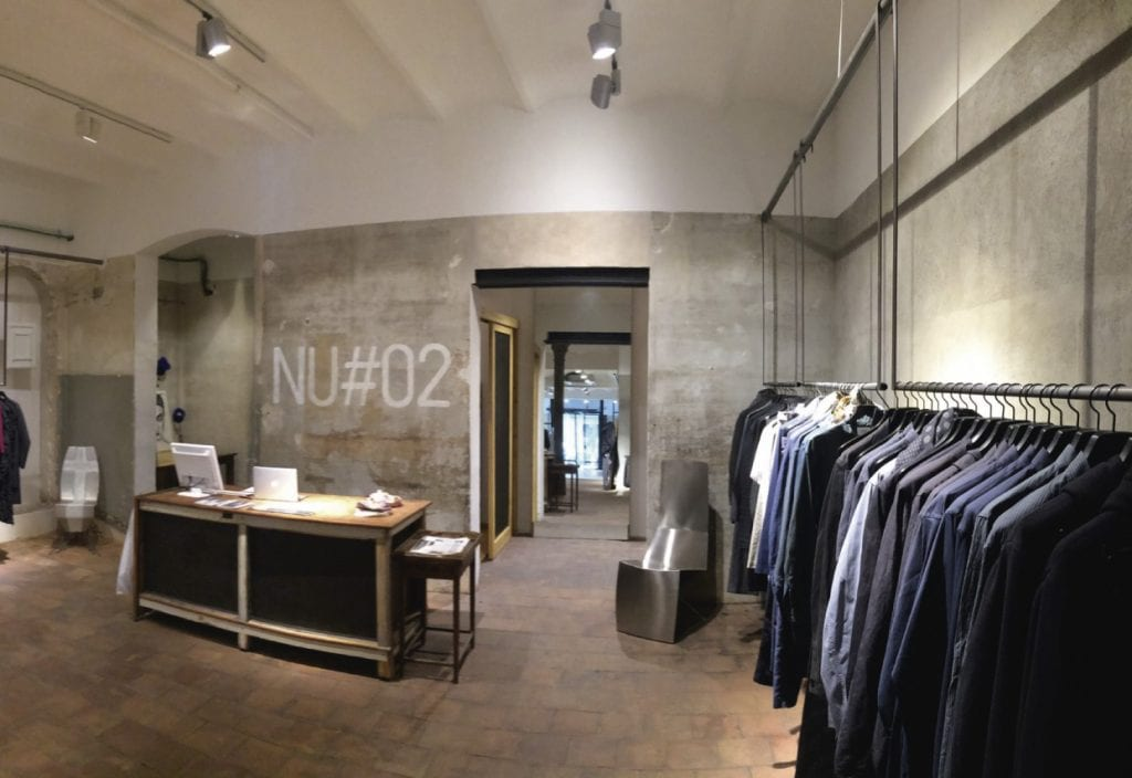Nu#02 store full of design products created in Barcelona