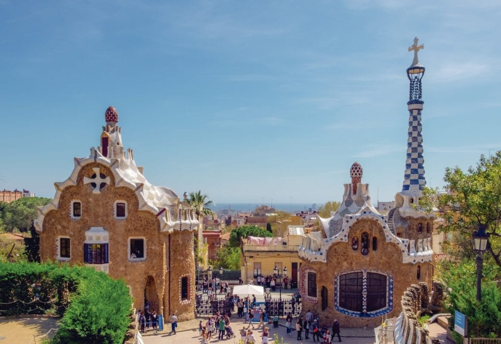 Views from Park Güell, a must visit place in Barcelona