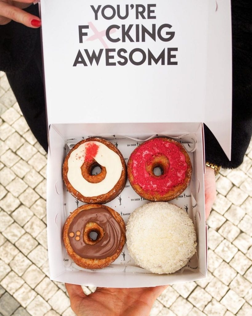 Oh Deer bakery cronuts are among the Prague hidden gems