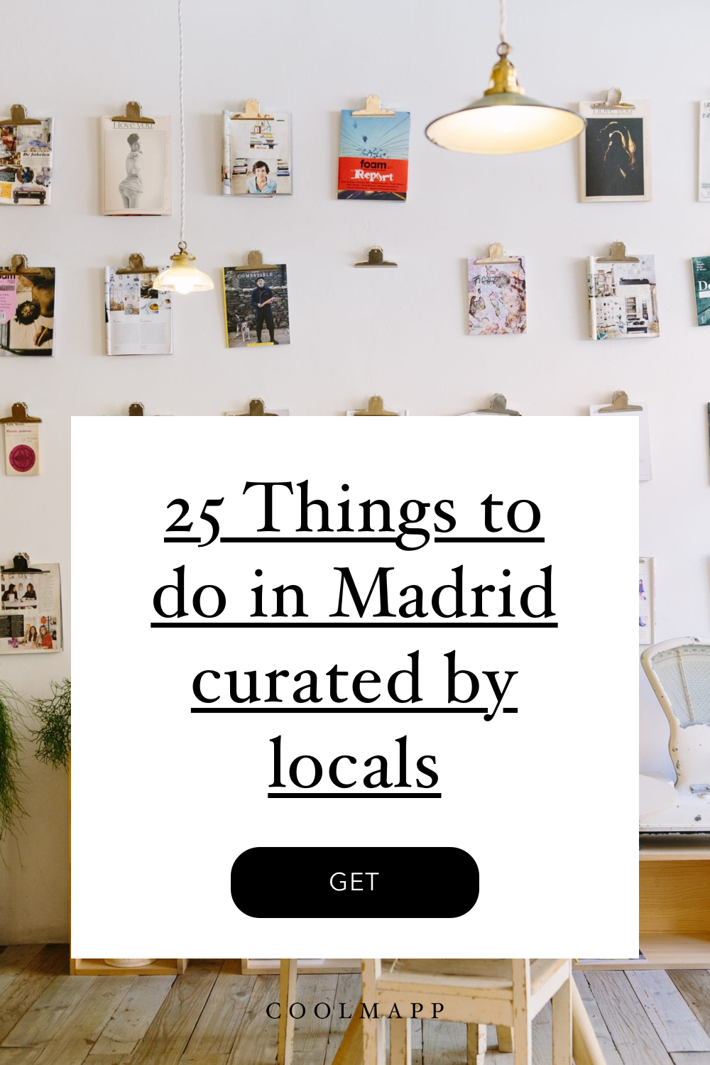25 Things to do in Madrid article cover
